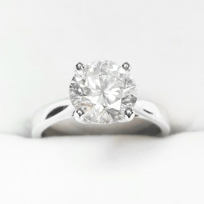 Second Hand Solitaire Diamond Ring, 2.12ct