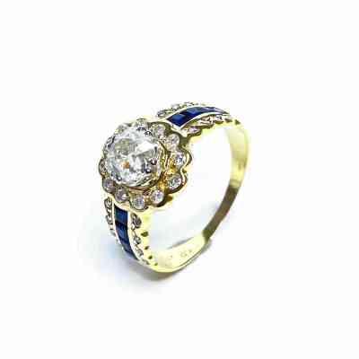 Second Hand 18ct Yellow Gold Diamond Ring