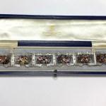 Second Hand Platinum Multi-Gem Bracelet