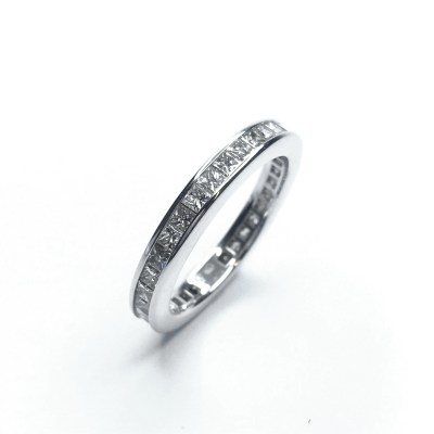 Second Hand 18ct White Gold Diamond Full Eternity Ring