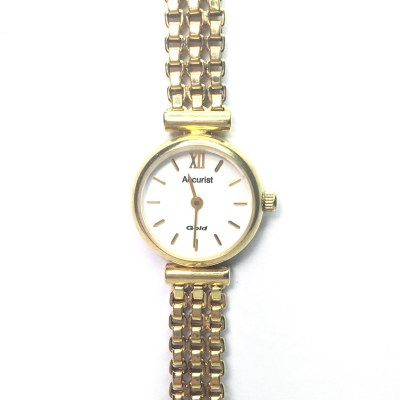 Second Hand Accurist 9ct Yellow Gold Ladies Watch