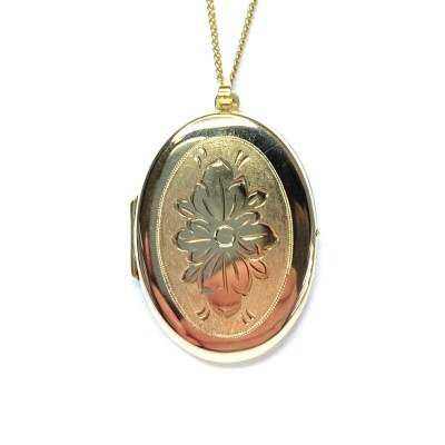 Second Hand 9ct Yellow Gold Photo Pendant