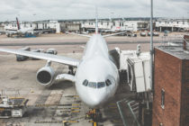 airplane-waiting-for-departure-in-the-airport-picjumbo-com