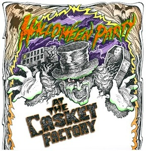 Halloween Party at the Casket Factory @ The Casket Factory | Jacksonville | Florida | United States
