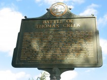 The Battle of Thomas Creek