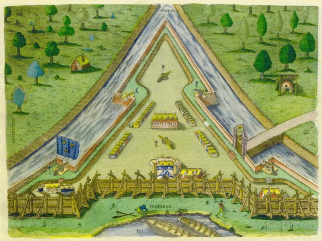 Delineation of Fort Caroline