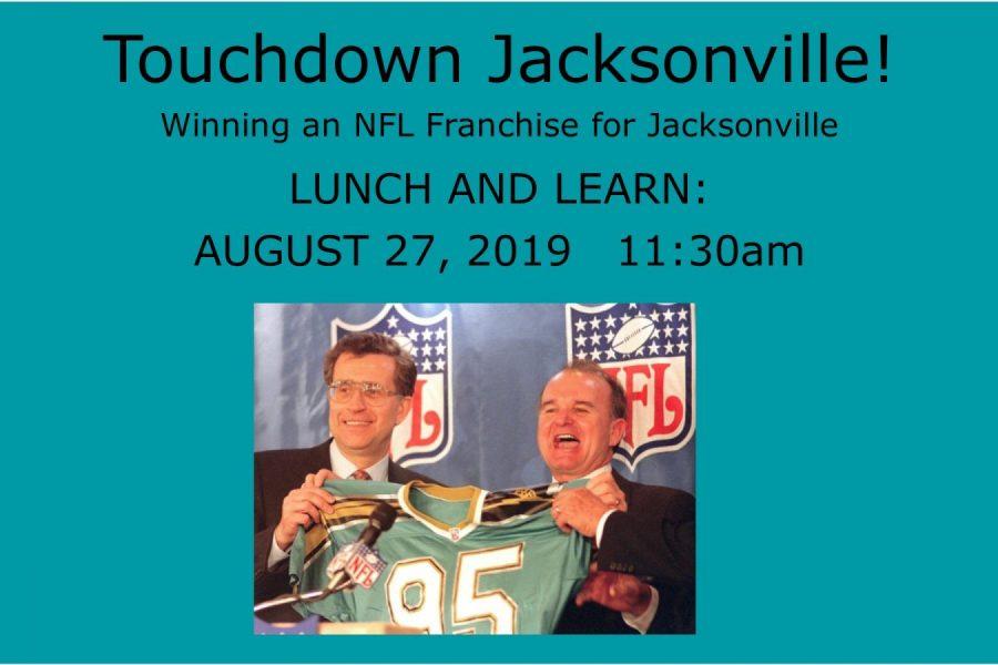 Touchdown Jacksonville! Winning the NFL Franchise for Jacksonville @ Old St. Andrews Church