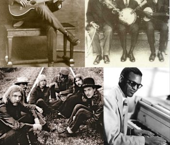 Collage of photos of Black musicians