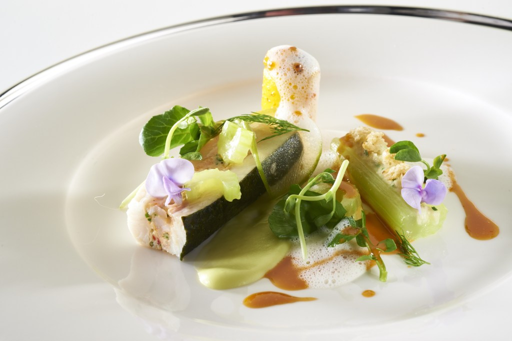 The UK fish dish, Bocuse d'Or 2015