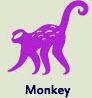 Monkey - Shen - Chinese animal sign