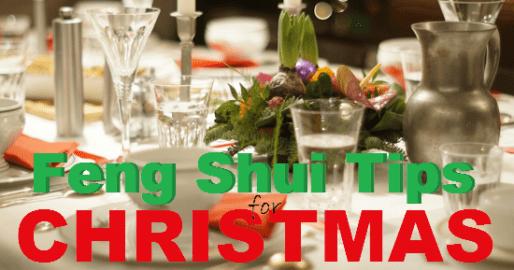 Feng Shui Tips for Christmas 2017