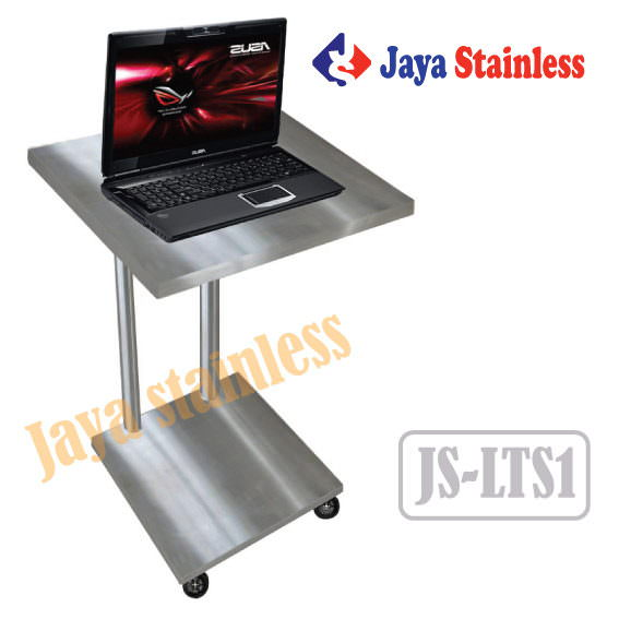 Meja laptop stainless JS-LTS1