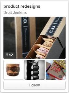 Brett Jenkins Pinterest Product Redesign Board