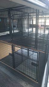 dog cage 22