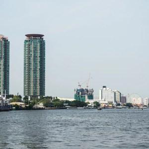 Chao Phraya River. Bangkok