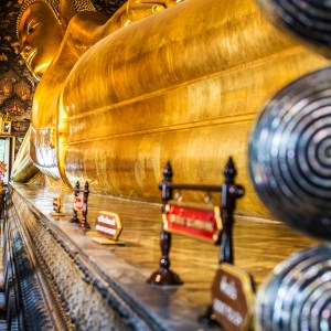 Buddha statue, Wat Pho Temple, Bangkok