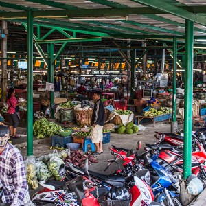 Thonburi Fresh Market, Bangkok