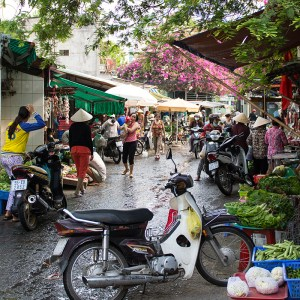 Local market place Ho Chi Minh 7City District 9