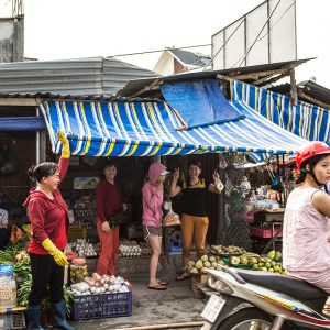 Local market place Ho Chi Minh City District 9