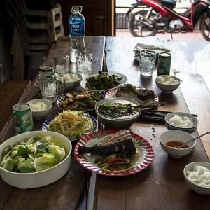 Lunch Phan Rang trip