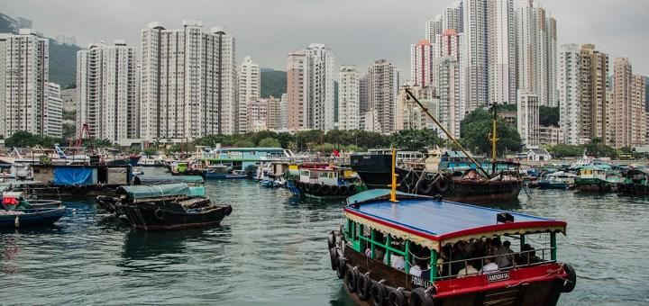 Aberdeen, Hong Kong, from Aberdeen Harbour