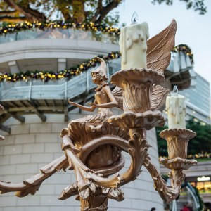 Christmas decorations at 1881 Heritage, Tsim Sha Tsui, in Kowloon.