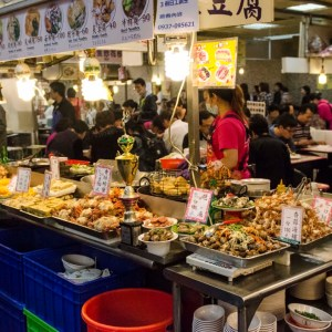 Food court, Shilin Night Market - Taipei, Taiwan