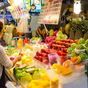 Shilin Night Market fruits