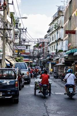 Side streets of Wongwian Yai