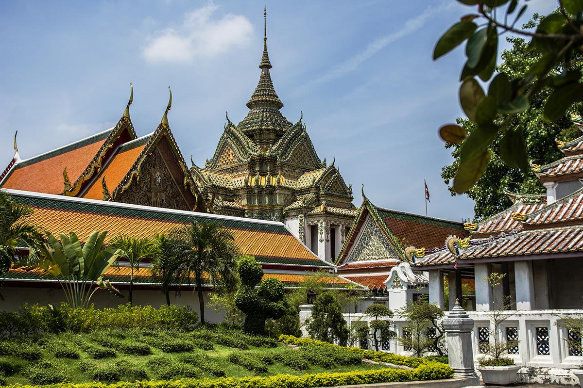 Wat Pho Buddhist Temple Complex, Bangkok