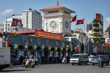 You won't be shopping at Ben Thanh Market if you don't have your Letter of Approval for you Vietnam visa.