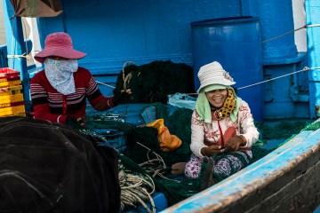 Stitching the nets