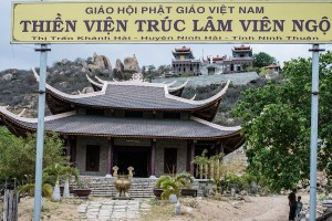 Vien Ngo Buddhist monastery in the Ninh Thuan province
