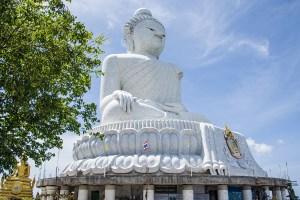 Phuket's BIG Buddha is REALLY BIG!