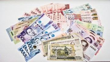 Southeast Asian currencies.