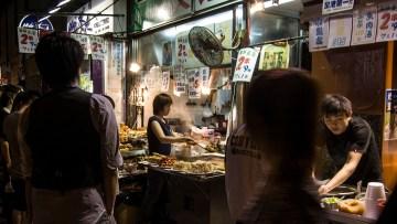Hong Kong street food.