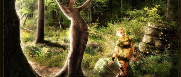 A DRYADS HOPE - Photography and Fantasy Photmanipulation by Jayel Draco