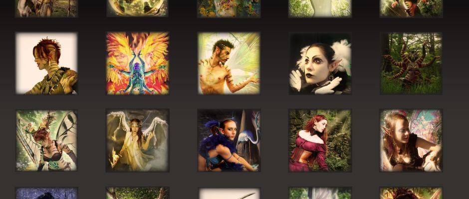 Jayel Draco's Fall 2011 - Photomanipulation Model Contest Flyer