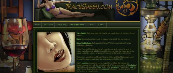 Tracy Queen - website image - by Jayel Draco