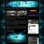 Oneshi Press - website design by Jayel Draco