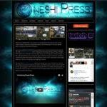 Oneshi Press - website design by Jayel Draco