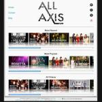 allaxismusic.com - web design by Jayel Draco