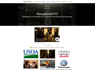 panopticonnyc.com – website designed by Jayel draco