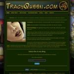 tracyqueen.com - website designed by Jayel Draco