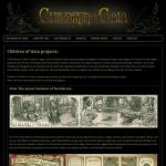 Children of Gaia - website design by Jayel Draco