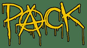 PACK comic book logo for Kickstarting PACK comicbook issue 01 print run