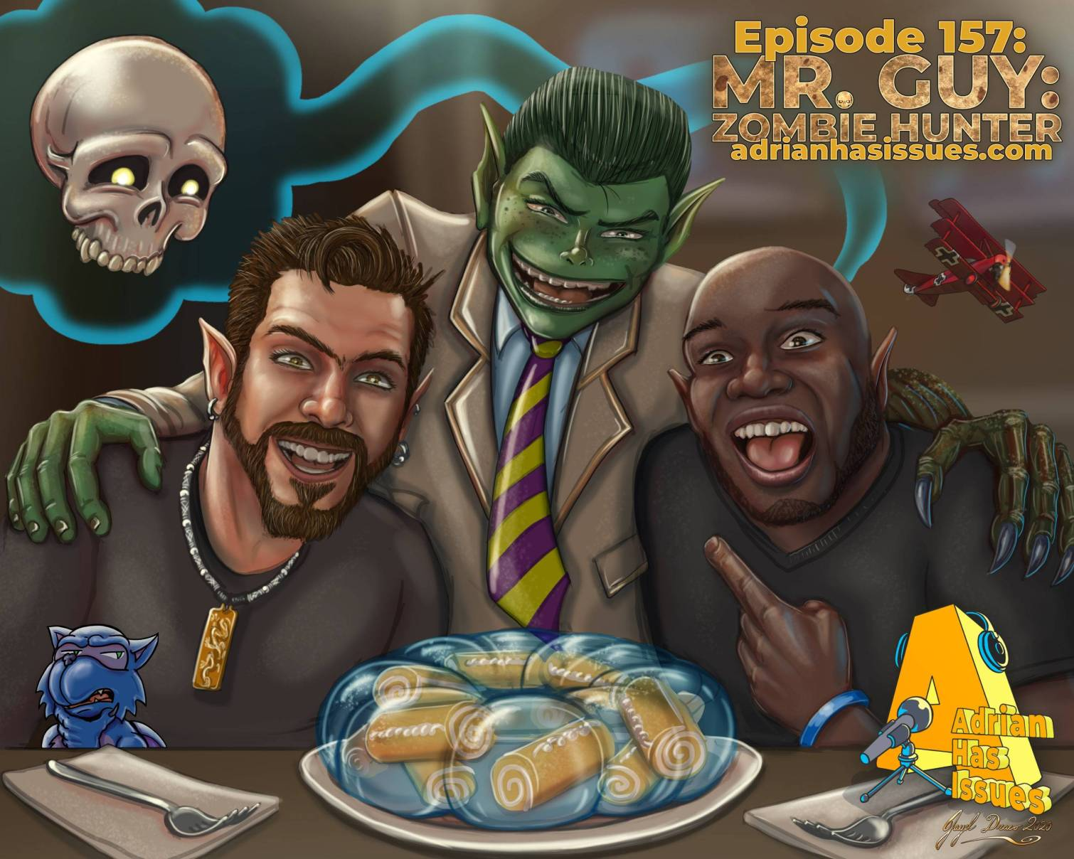Adrian Has Issues Podcast Episode Number 157