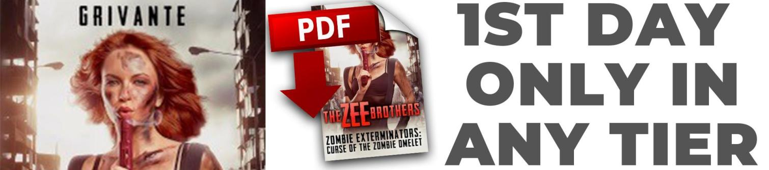 Zee Bros: Zombie Exterminators Volume 1 .pdf novel by Grivante