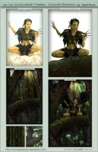 Lau Lau - Ucoravurakesh Priestess - Breakdown