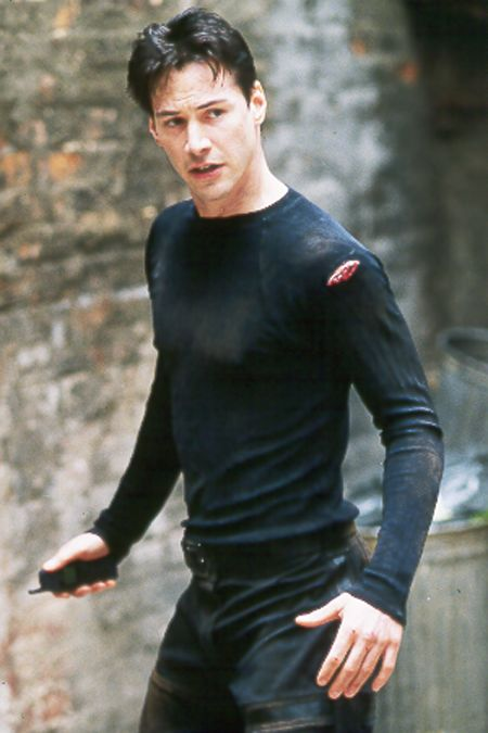 KEANU REEVES THE MATRIX PHOTOS 1